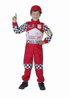 Costum pilot formula 1 pentru carnaval