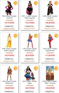 costume carnaval Halloween