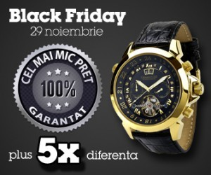 black friday ceasuri de frima topceas.ro