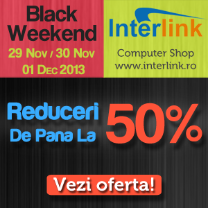black friday calculatoare second hand interlink.ro