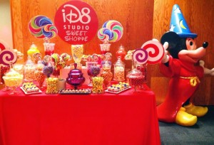 Candy Bar - masa cu dulciuri