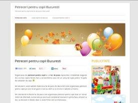 Petreceri pentru copii Bucuresti