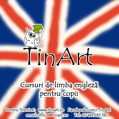 Cursuri de limba engleza pentru copii TinArt