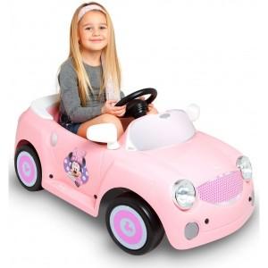Masinuta electrica pentru fetite Minnie Cubhouse