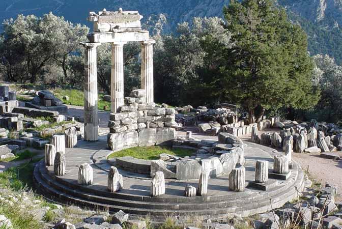 sanctuarul din Delphi