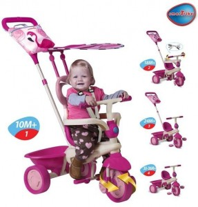 tricicleta safari flamingo fisher price