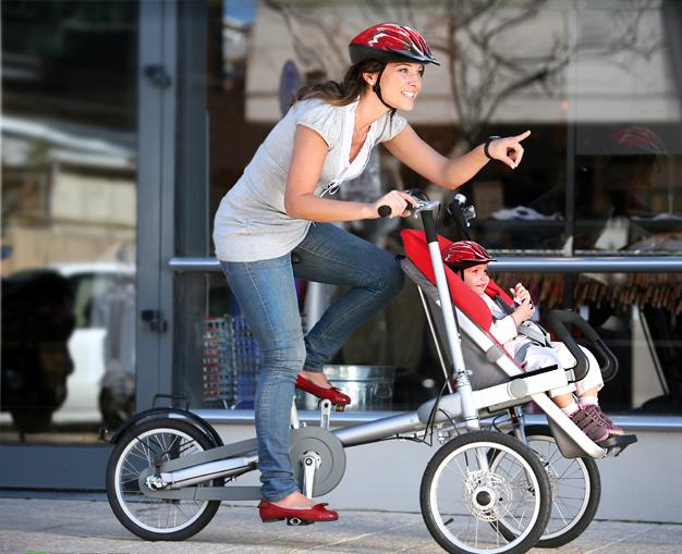Carucior copii sau bicicleta cu cos pentru bebelus