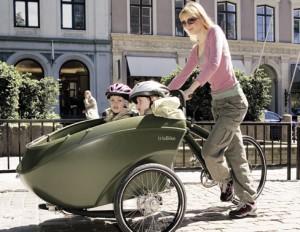 Bicicleta cu atas pentru copii