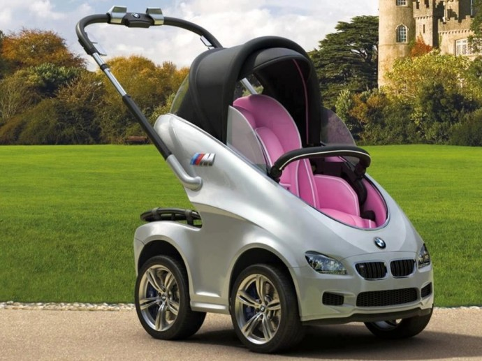 Cel mai tare carucior BMW