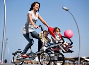 carucior bicicleta gemeni