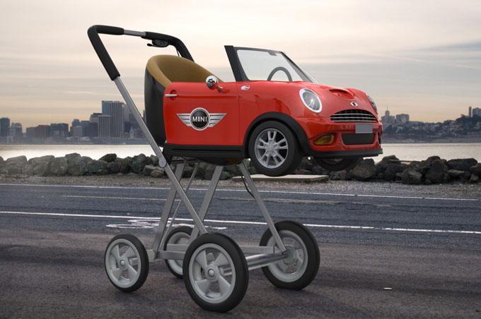 carucior elegant design autoturism mini