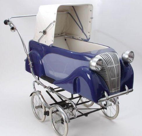 carucior design elegant masina de epoca
