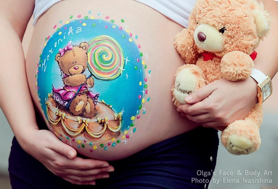 desene burtica gravide ursulet plus