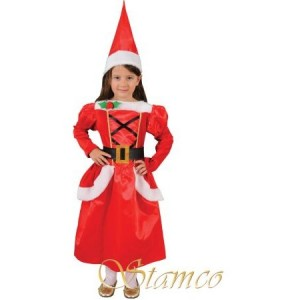 costum miss Santa