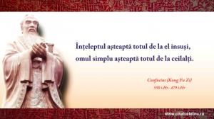 Confucius despre asteptari