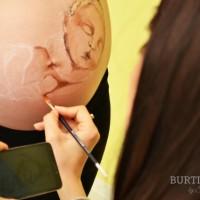 Cum se face o pictura pe burtica by Simona