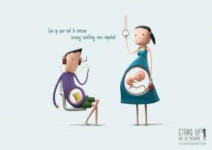 Fiecare barbat trebuie sa respecte o femeie gravida