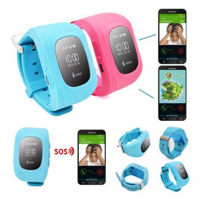 ceas pentru copii cu functii gps si telefon