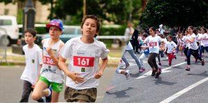 Cum alearga copiii