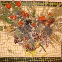 Aranjamente din flori uscate decorative